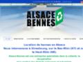 Location : Alsace Bennes à Strasbourg (67)