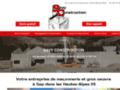 Maçonnerie : SAVY Construction à Pelleautier (05)