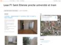 Appartement f1 à louer à Saint Etienne 42 université