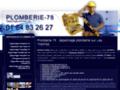 Plombier 78 Yvelines - dépannage et installation