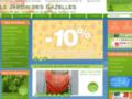Jardinerie en ligne - Jardin des Gazelles