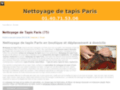 Nettoyage de tapis - Paris (75)